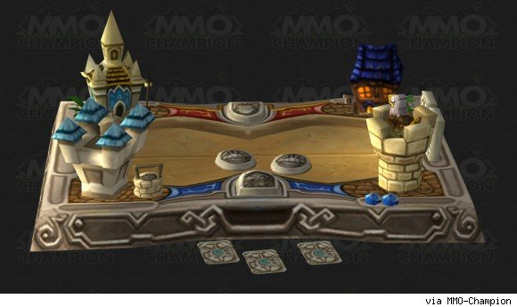 Patch 54 Hearthstone gameboard model datamined