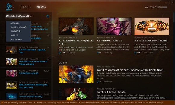 New Battlenet Desktop Client Beta
