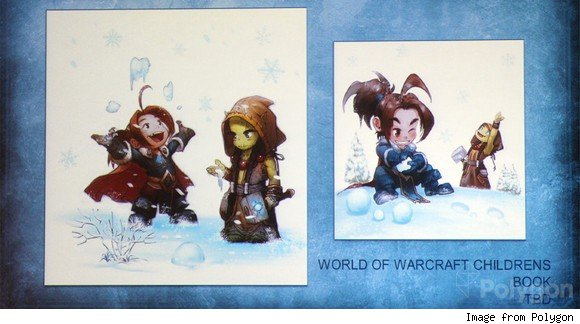 New World of Warcraft children's book announced at SDCC