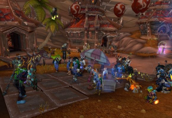 Around Azeroth Occupy Orgrimmar WEDNESDAY