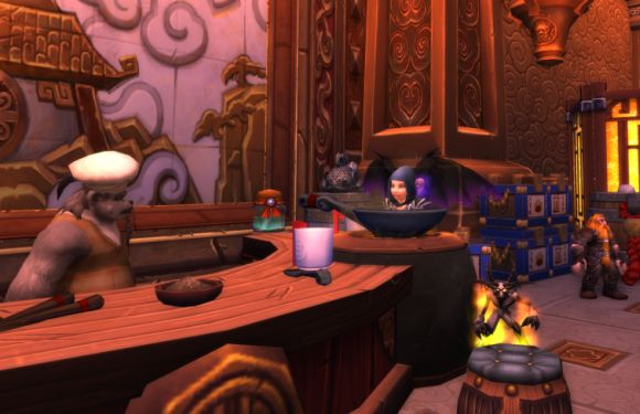Around Azeroth Waiter, there's a gnome in my soup MONDAY