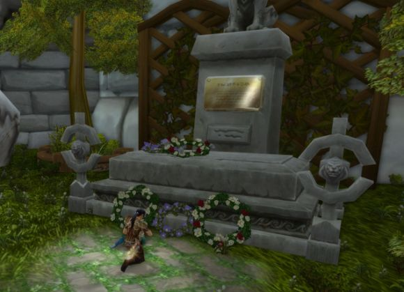 Around Azeroth Beloved wife and mother MONDAY