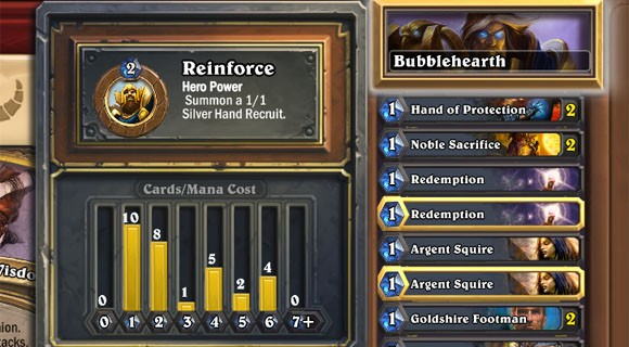 Hearthstone Deck Construction 101
