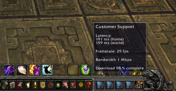 Patch 54 PTR Latency and FPS info moved to a new home