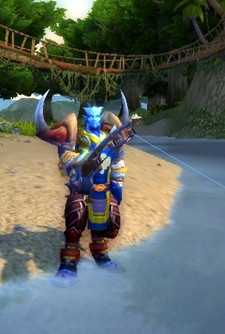 Hunter sweeps all three Stranglethorn Fishing winning spots in one day