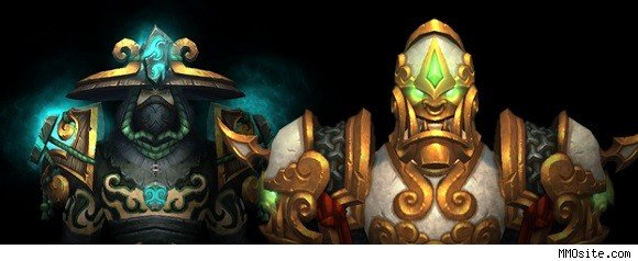 Monk and warrior tier sets