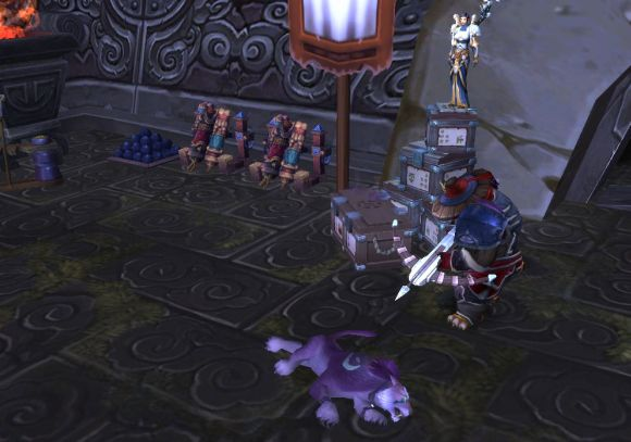 Around Azeroth Ailurophobia WEDNESDAY