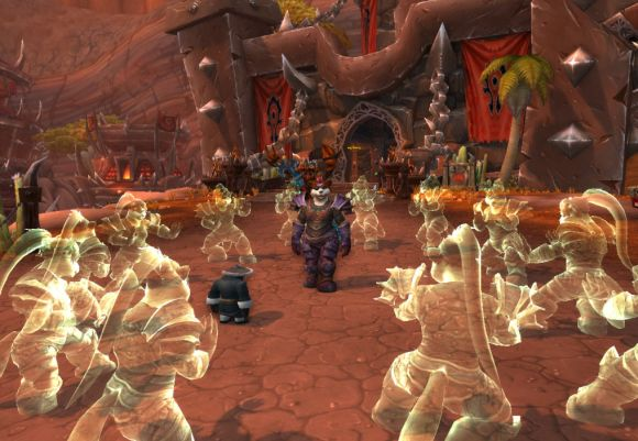 Around Azeroth Punching ghosts SUNDAY
