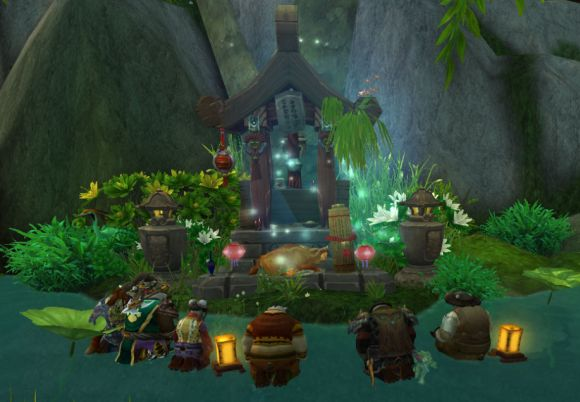 Around Azeroth A night of many pandas FRIDAY