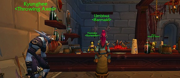 Gamasutra examines character names in World of Warcraft
