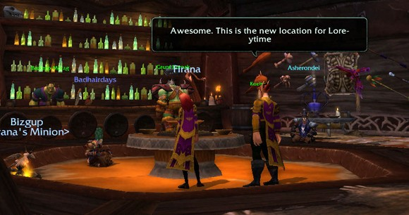 School's in session at ingame Loreytime with Lessons in Lore