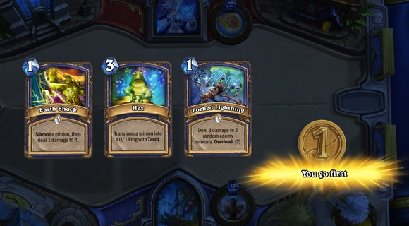 Hearthstone Know when to fold 'em