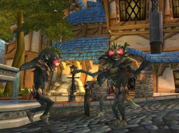 Around Azeroth Ugly on the inside THURSDAY