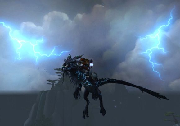 Around Azeroth Lightning rod TUESDAY