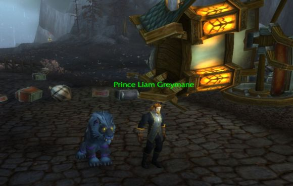 Around Azeroth The prince and the panther SATURDAY