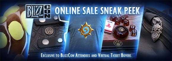 BlizzCon Online Sale sneak peak