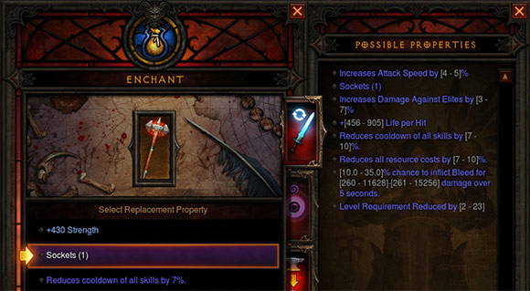 Diablo 3 Enchanting