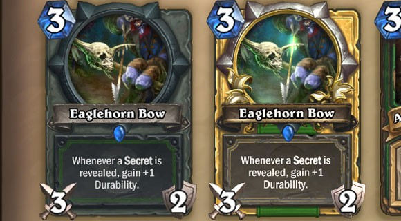 Hearthstone Highlight Eaglehorn Bow