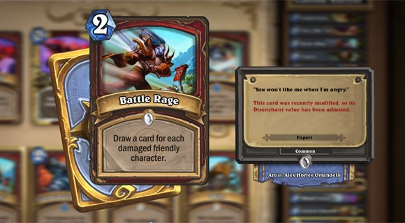 Hearthstone Highlights Inducing Battle Rage