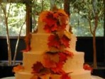 Wedding cake with autumn panache!