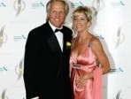 Chris Evert and Greg Norman engaged