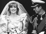 Celebrity wedding: Diana Spencer and Prince Charles