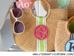 Take your monogram on your honeymoon