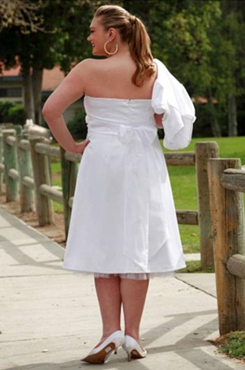 doll face white satin dress back