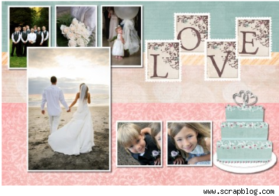 Digital Scrapbooking Blushbutterwedding on large beach home designs