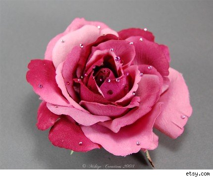 rose flowers pictures gallery. Sweet Heart Rose Silk Flower