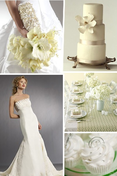 A white wedding can be so many things - ethereal and innocent or crisp and