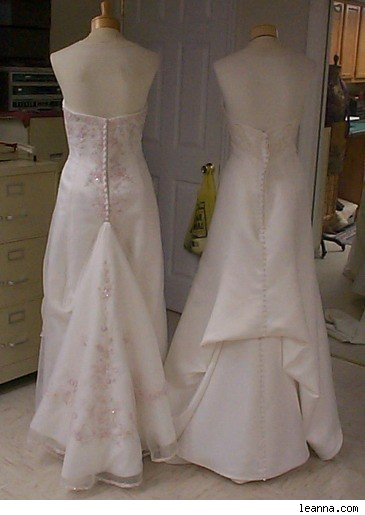 Different Types Of Wedding Gown Bustles 118