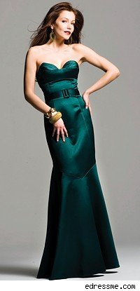 Green wedding dresses And by green we mean the color green