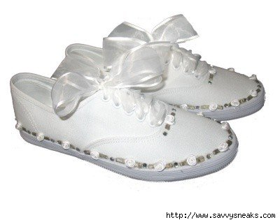 bridal tennis shoes