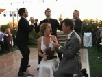 KISS Interrupts Couple's First Dance
