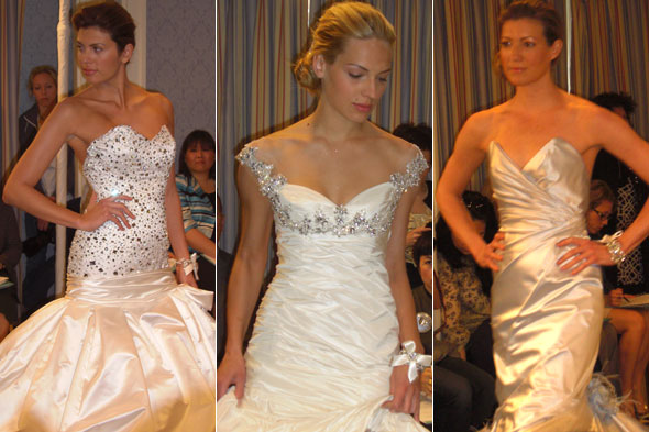 wedding dresses 2010 collection. Dramatic and glamorous wedding