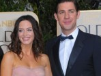 Married: John Krasinski and Emily Blunt