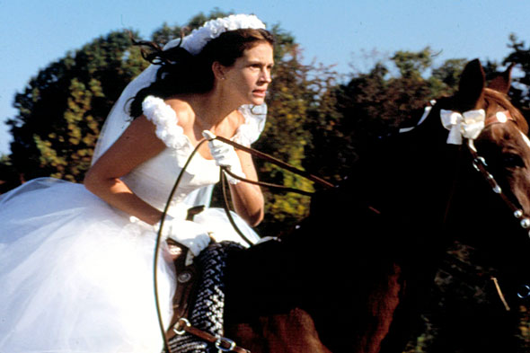 julia roberts wedding dress runaway. Gere and Julia Roberts are