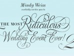 Must-Attend Mindy Weiss Wedding Event