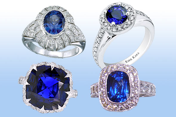 Trendy Engagement Rings 2011
