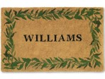 Five Reasons to Register at Williams-Sonoma: Personalized Doormats