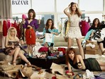 'Bridesmaids' Shop 'Til They Drop in 'Harper's Bazaar'