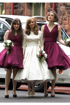 keira knightley bridesmaid