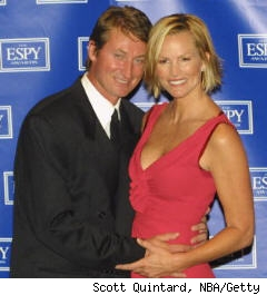 Wayne Gretzky and wife Janet at 2006 ESPYs.
