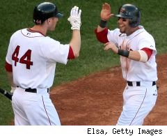 Jason Bay and Dustin Pedroia
