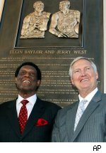 Elgin Baylor and Jerry West