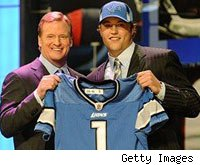 Roger Goodell Matthew Stafford