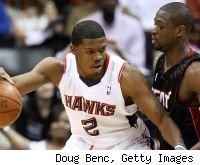 Joe Johnson and Dwyane Wade