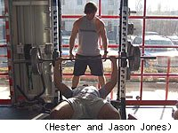 Kurt Hester and Jason Jones