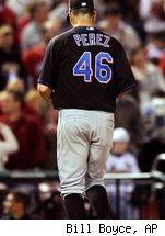 Oliver Perez needs to start knocking down that 9.31 ERA, or else the Mets might be finding him a new line of work in the bullpen.